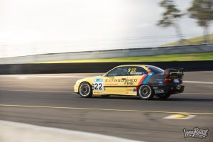 BMW M3 at Supersprint Rd. 3